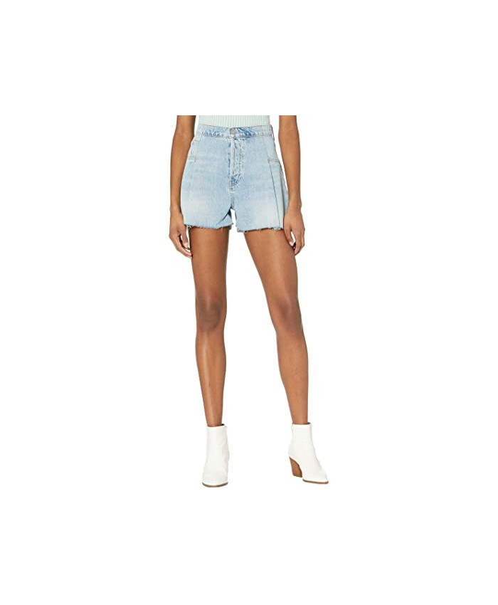 Hudson Jeans Paperbag Loose Shorts in Mirrors