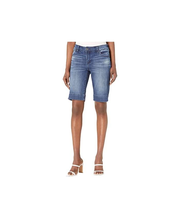 KUT from the Kloth Natalie Bermuda Shorts in Anticipate