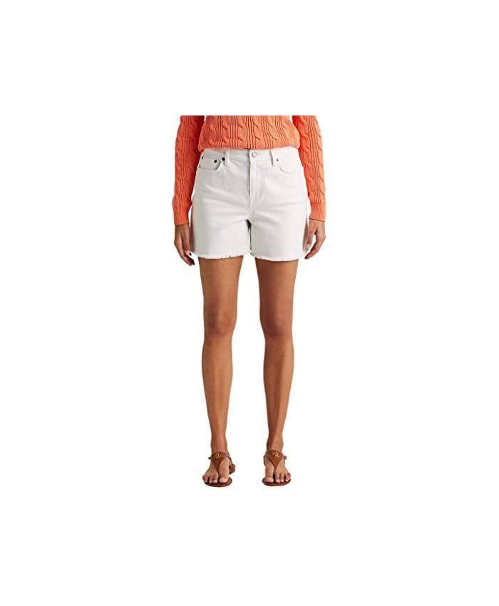 LAUREN Ralph Lauren High-Rise Denim Shorts