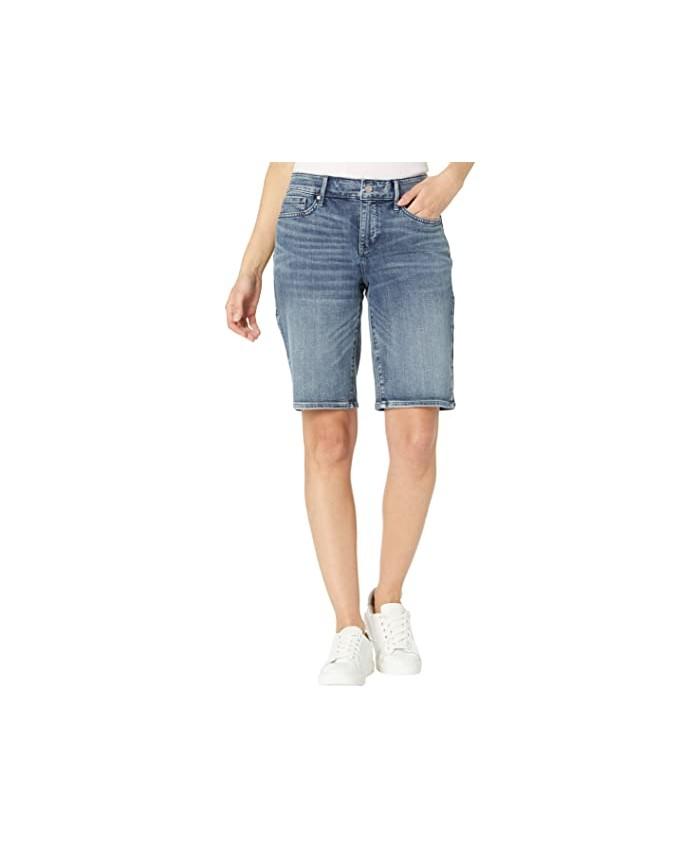 NYDJ Briella Denim Shorts in Monet Blue