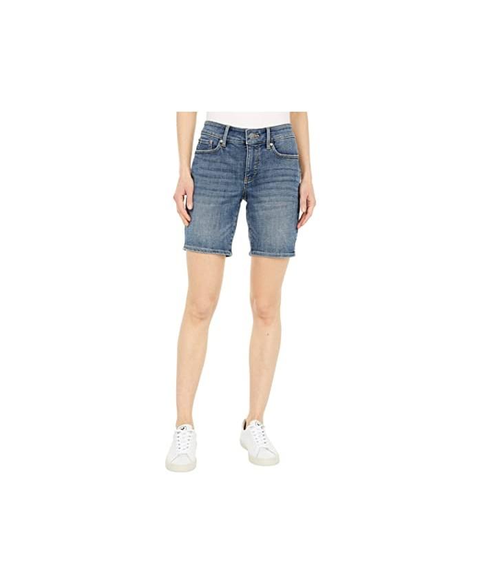 NYDJ Petite Petite Denim Ella Shorts in Seline
