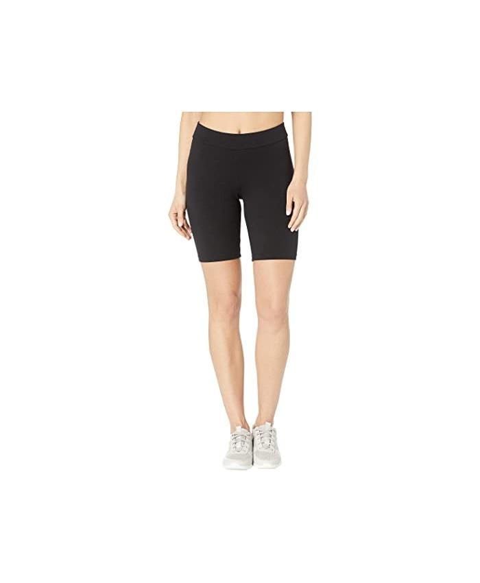 HUE High-Waist Blackout Cotton Bike Shorts