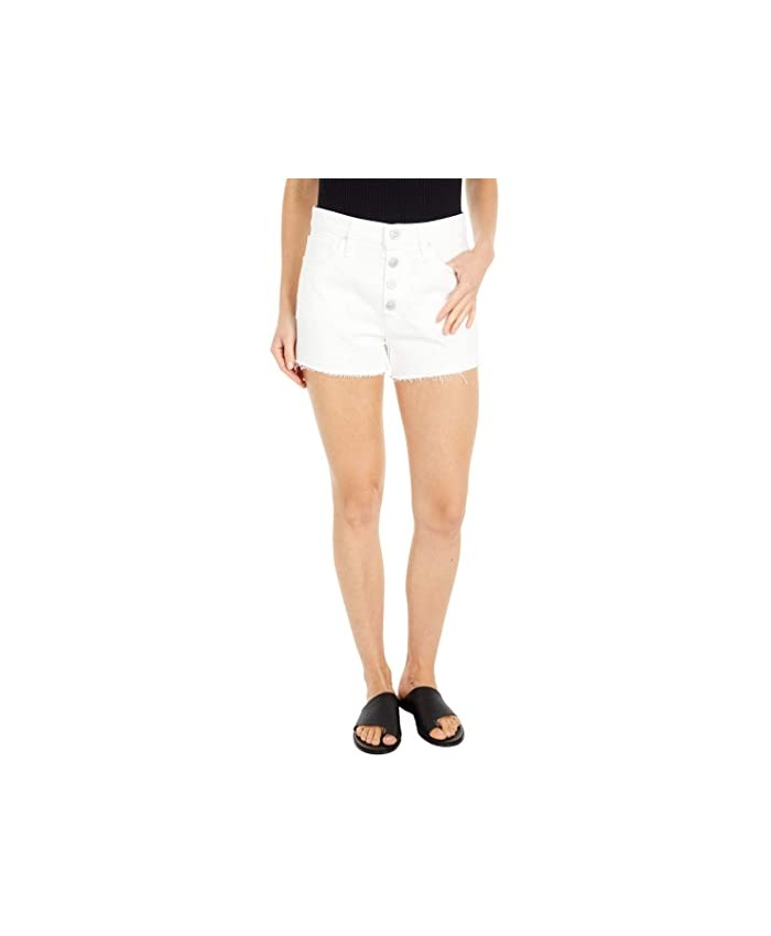 Hudson Jeans Cara Classic Shorts in Offshore