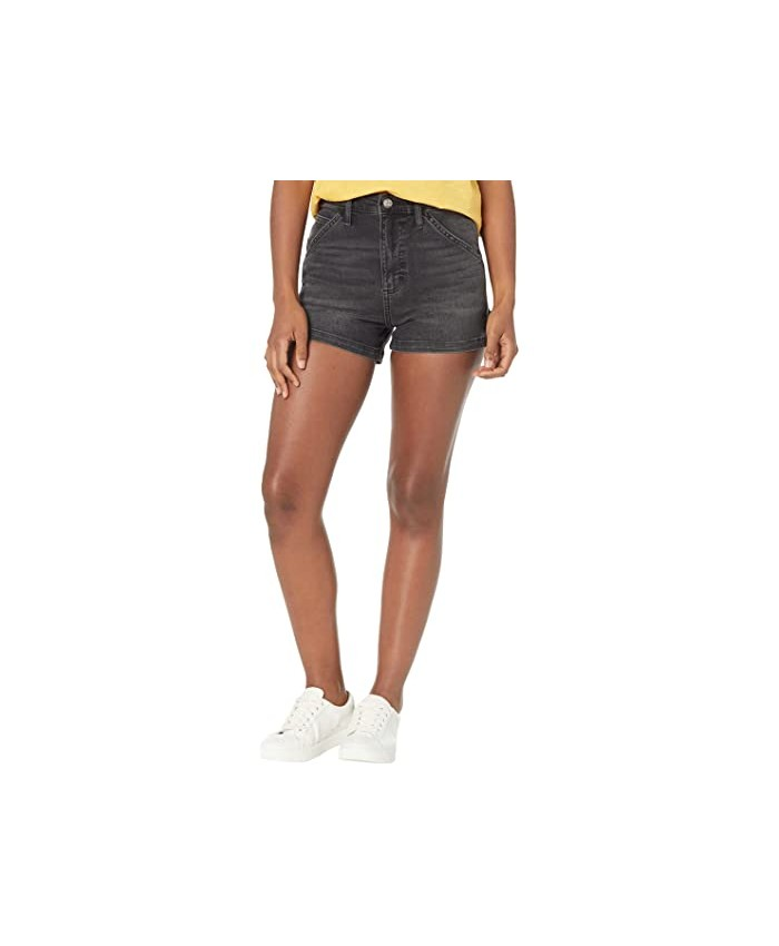 Lee High-Rise Dungaree Shorts