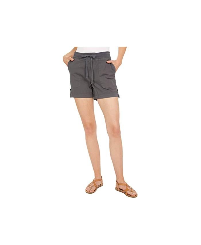 XCVI Wearables Bernie Stretch Poplin Shorts