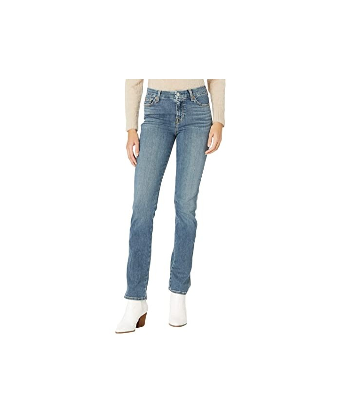 7 For All Mankind Kimmie Straight in Cass Blue