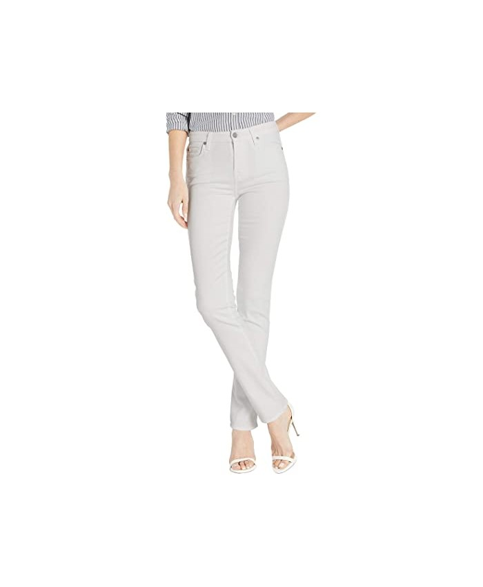 7 For All Mankind Kimmie Straight in Slim Illusion White