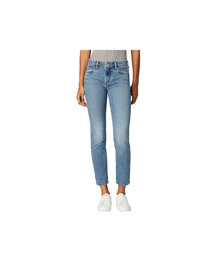 Joe's Jeans Lara Mid-Rise Straight Ankle