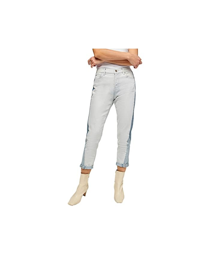 7 For All Mankind Josefina Patchwork in Coldwater Patchwork