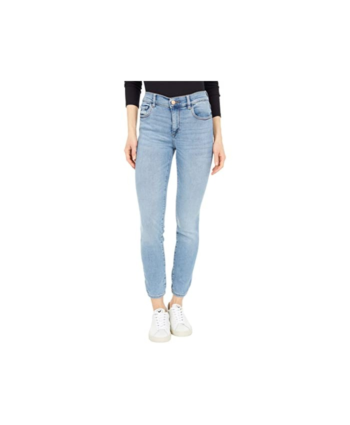DL1961 Florence Skinny Mid-Rise Instasculpt Ankle in Cloud