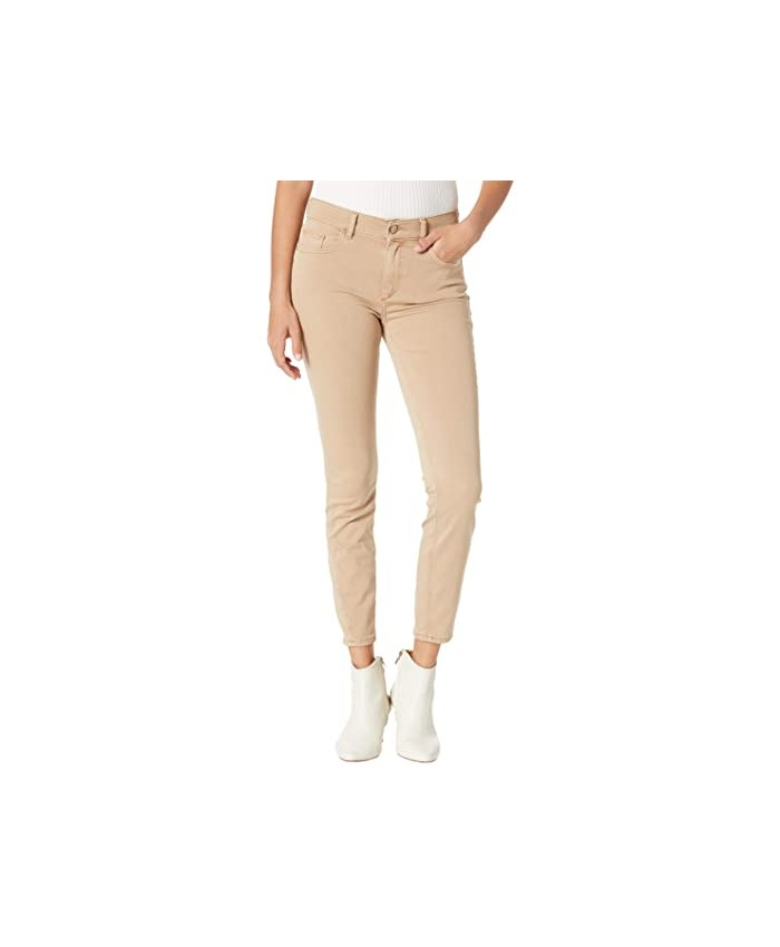 DL1961 Florence Skinny Mid-Rise Instasculpt Ankle in Hazelwood