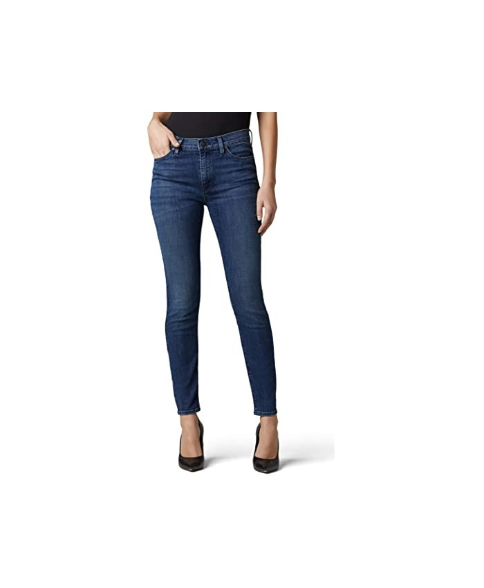 Hudson Jeans Nico Mid-Rise Super Skinny Ankle in Carlton