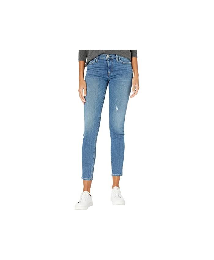 Hudson Jeans Nico Mid-Rise Super Skinny Ankle in Ultralife