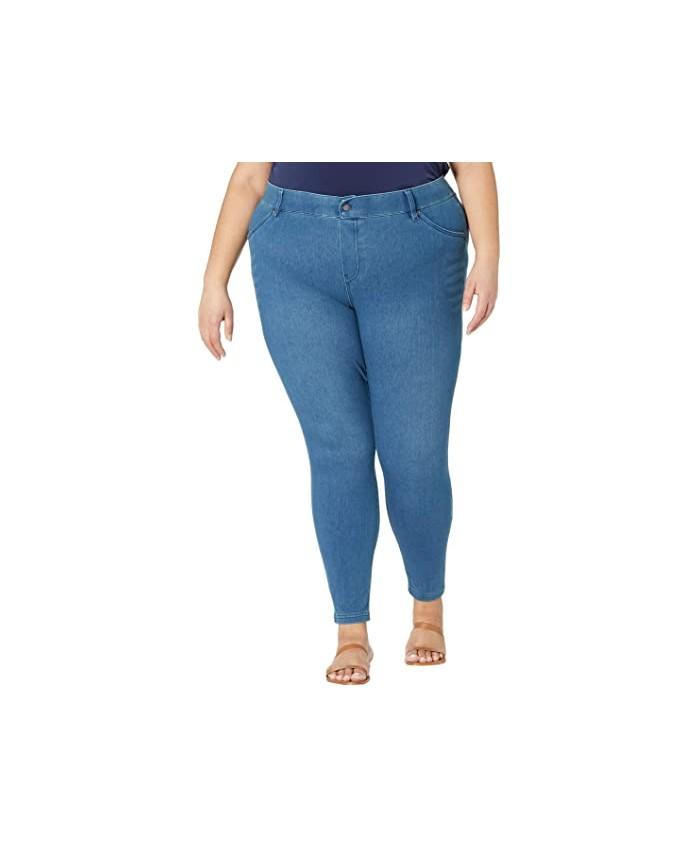HUE Plus Size High-Waist Ultra Soft Denim Leggings