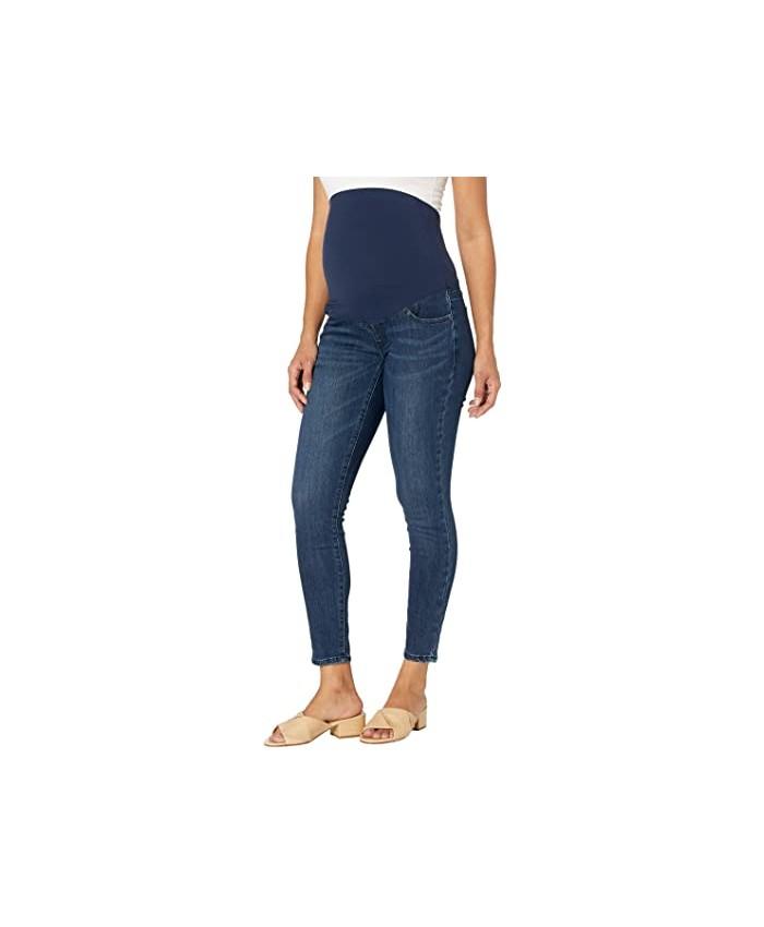 Ingrid & Isabel Maternity Skinny Jeans w\u002F Crossover Panel