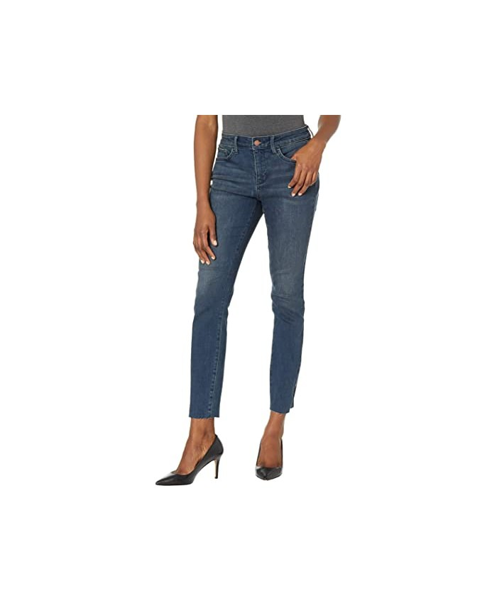 NYDJ Ami Skinny Jeans with Riveted Slits in Prosperity