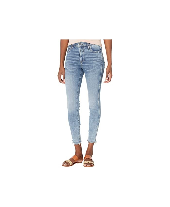 KUT from the Kloth Connie High-Rise Fab AB Ankle Skinny in Bulbinella