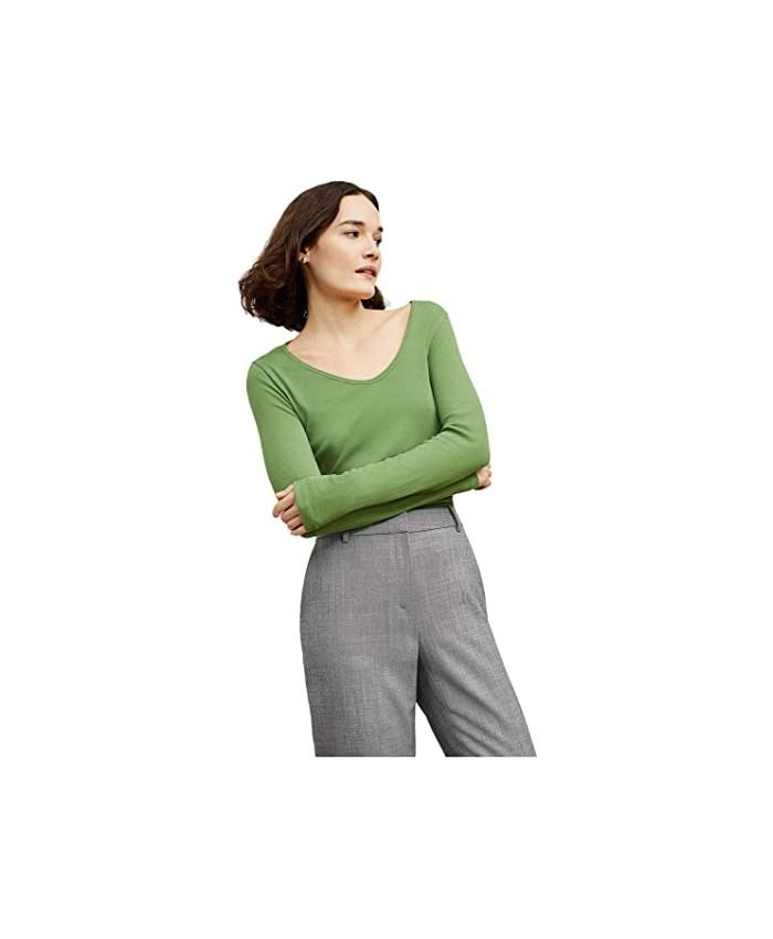 M.M.LaFleur Marcia T-Shirt - Fine Rib