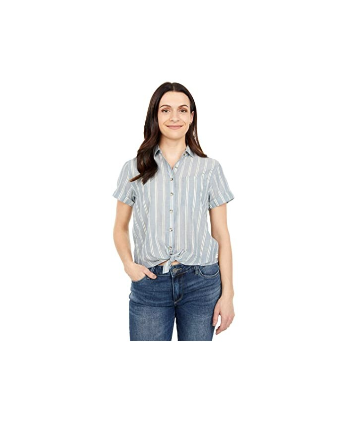 Toad&Co Airbrush Tie Short Sleeve Shirt