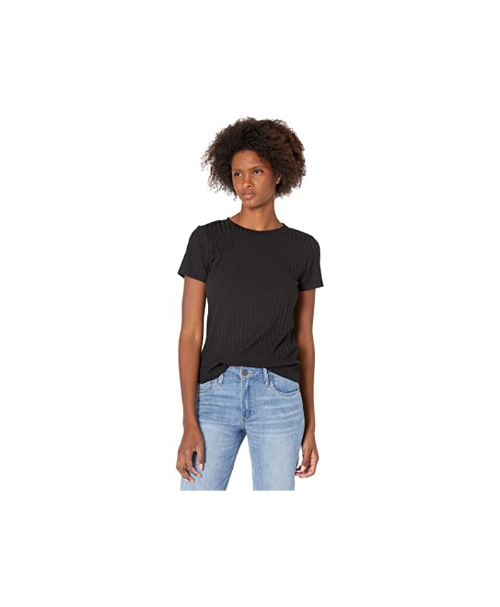 Vince Camuto Cap Sleeve Solid Knit Top