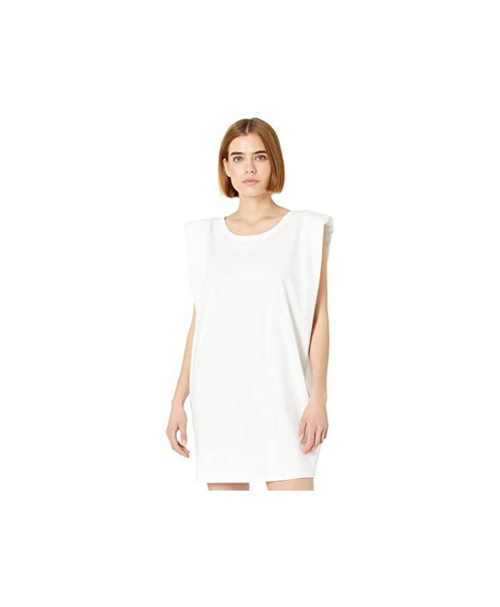 Bardot Shoulder Pad Mini Dress