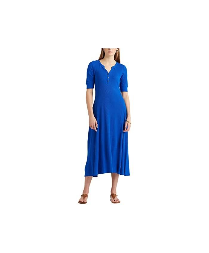LAUREN Ralph Lauren Cotton Henley Dress