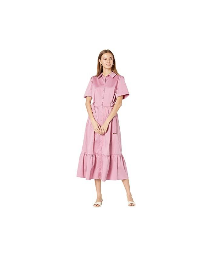 Ted Baker Luuciiy Short Sleeve Cotton Shirtdress