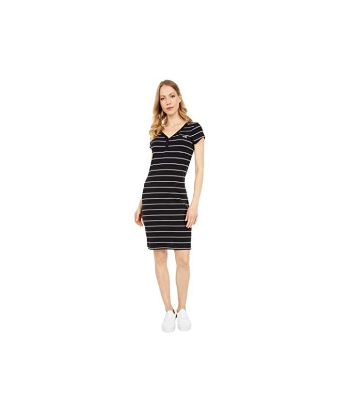 Vans Ally Stripe Midi Dress