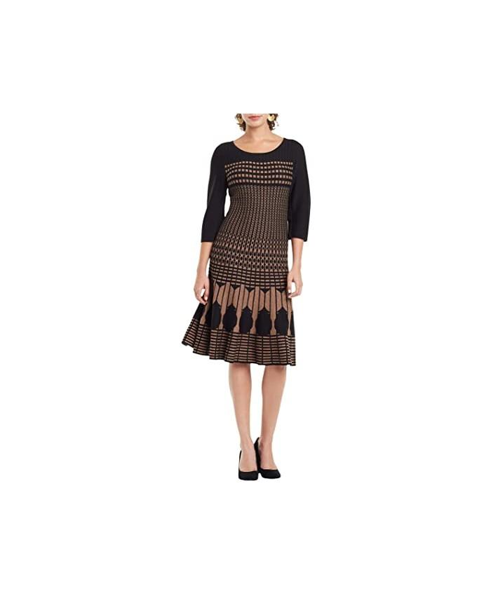 NIC+ZOE Ellipse Twirl Dress