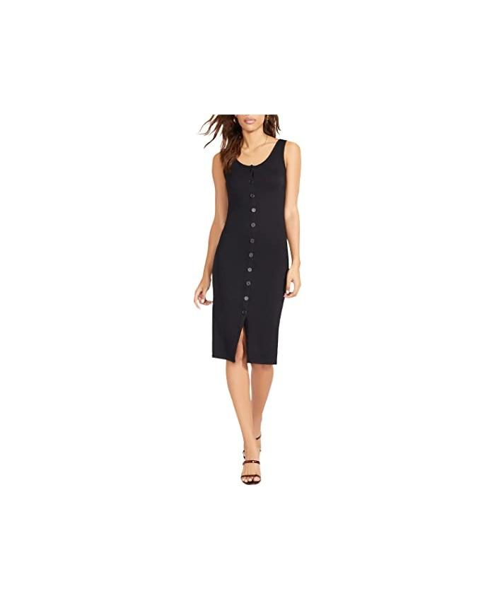 BB Dakota x Steve Madden Vision Of Love Dress - Rib Knit Button Front Dress