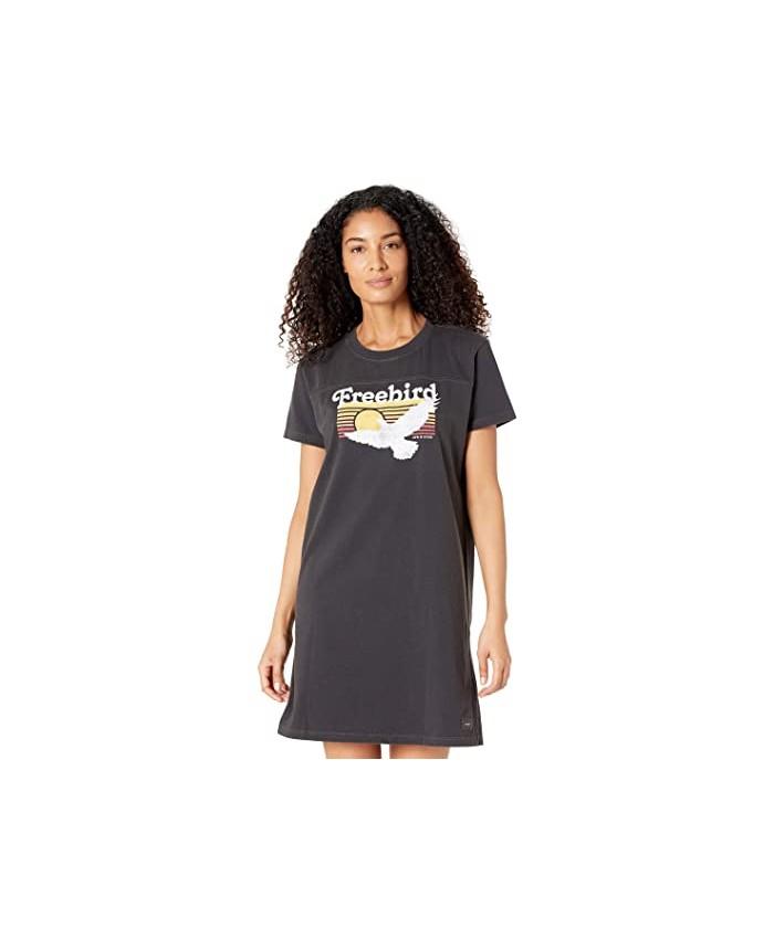 Life is Good Free Bird Crusher Tee Dress